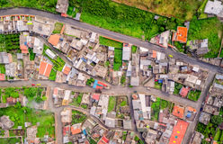Residential Community Of Banos, Ecuador. Residential Community Of Banos De Agua Santa, Tungurahua Province, South America Royalty Free Stock Photography