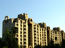 Residential Complex. A residential complex with apartments on sale Royalty Free Stock Images