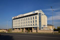 Residential complex MILANO QUARTIERE in Astana Royalty Free Stock Photo