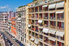 Residential complex in Nice, France. Royalty Free Stock Images