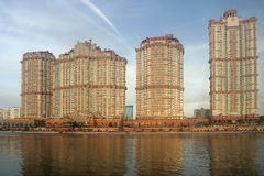 Residential complex Scarlet sails, Moscow Stock Photography