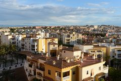 Residential complex in Torrevieja Royalty Free Stock Photos