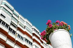 Residential complex in Torrevieja Stock Photography