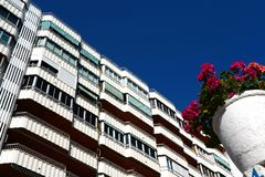Residential complex in Torrevieja Royalty Free Stock Image