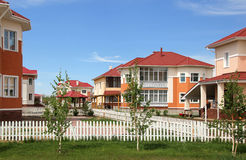 Residential Complex. View of the new residential area Stock Photo