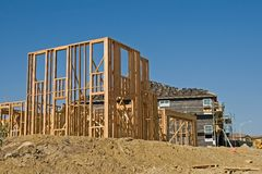 Residential Construction Royalty Free Stock Image