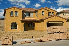 Residential Construction Royalty Free Stock Photos