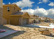 Residential Construction Royalty Free Stock Photography
