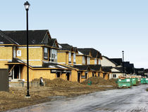 Residential Construction Stock Photography