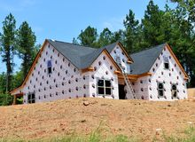 Residential construction in Bogart Georgia Stock Photography