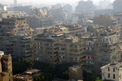 Residential district of Cairo. Modern residential district at morning, Cairo, Egypt Royalty Free Stock Images