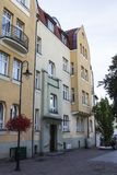 Residential district of the city of Sopot. Poland.  stock photo