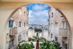 Residential district in Jerusalem Royalty Free Stock Photo
