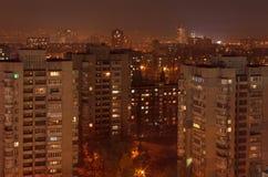 Residential district in Kiev Stock Image