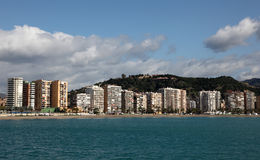 City of Malaga. Andalusia, Spain Royalty Free Stock Photography