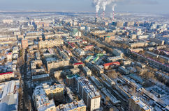 Residential district on Melnikayte street. Tyumen Stock Photography