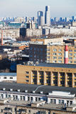 Residential district in Moscow Stock Image