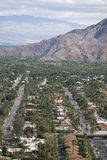 Residential district and mountains Royalty Free Stock Photography