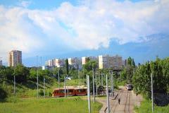 Residential district Sofia Bulgaria Stock Photography