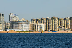 Residential district in St. Petersburg Royalty Free Stock Photography