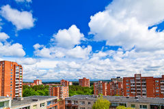 Residential District of Vilnius Stock Images