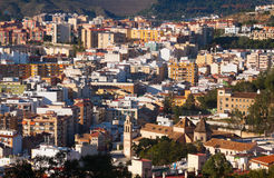 Residential districts in andalusian city.  Malaga Stock Photography