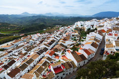 Residential districts in andalusian town.  Olvera Stock Image