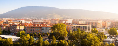 Residential districts at Pamplona Stock Photography