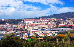 Residential districts of Plasencia Stock Photos