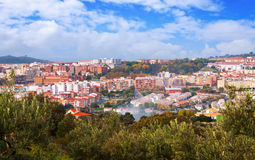 Residential districts of Plasencia. Spain Royalty Free Stock Photos