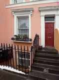 Residential doorway Stock Photos