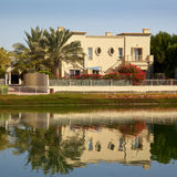 Residential Dubai. A villa in The Springs, a luxurious residential area of Dubai Royalty Free Stock Images