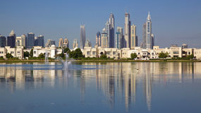 Residential Dubai Royalty Free Stock Photography