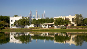 Residential Dubai Stock Photography