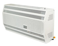 A residential electric heater,  Royalty Free Stock Images