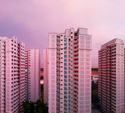 Residential Estate in Singapore stock photos
