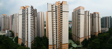 Residential Estate in Singapore Stock Photography