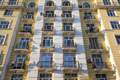Residential facade Stock Photo