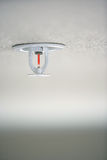 A residential fire sprinkler Stock Image