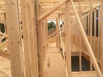 Residential framing Stock Photos