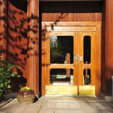 Residential front entry Royalty Free Stock Images