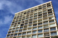 Residential high rise apartment building Royalty Free Stock Photos