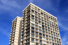 Residential high rise apartment buildings Royalty Free Stock Photos