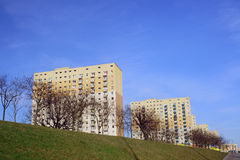 Residential high-rise housing estate Royalty Free Stock Photography