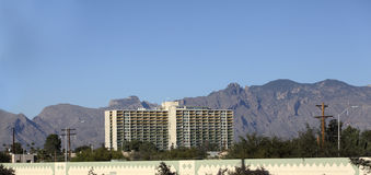 Residential Highrise, Tucson, AZ Royalty Free Stock Photography