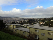 Residential Hills of San Francisco California Stock Photos