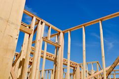 Residential Home Construction Royalty Free Stock Images