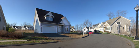 Residential Home Panorama Stock Photography