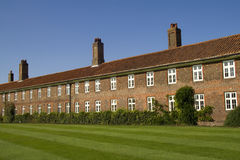 Residential homes at Hampton Court Royalty Free Stock Images