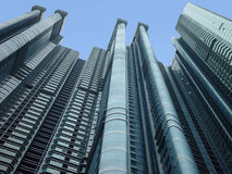 Residential Hong Kong. Residential flats in Hong Kong Royalty Free Stock Images